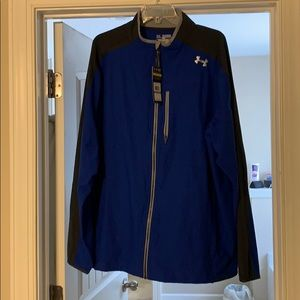 Men's UA light weight jacket with chest zip pocket